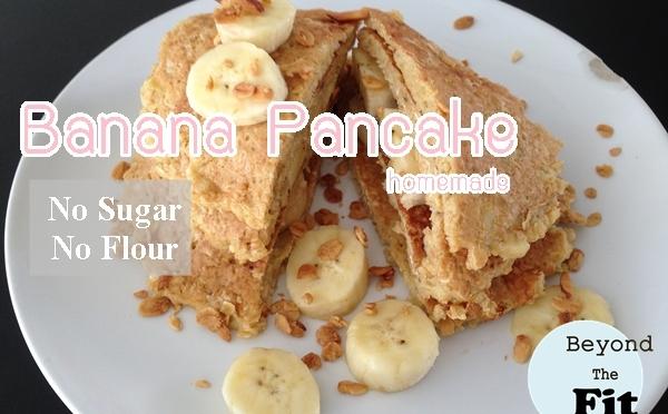 มาทำเเพนเค้กไร้เเป้ง ไร้น้ำตาล โปรตีนสูงกันเถอะ!!