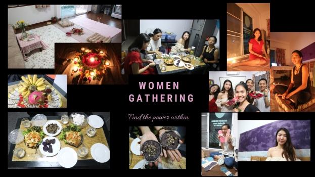 women gathering